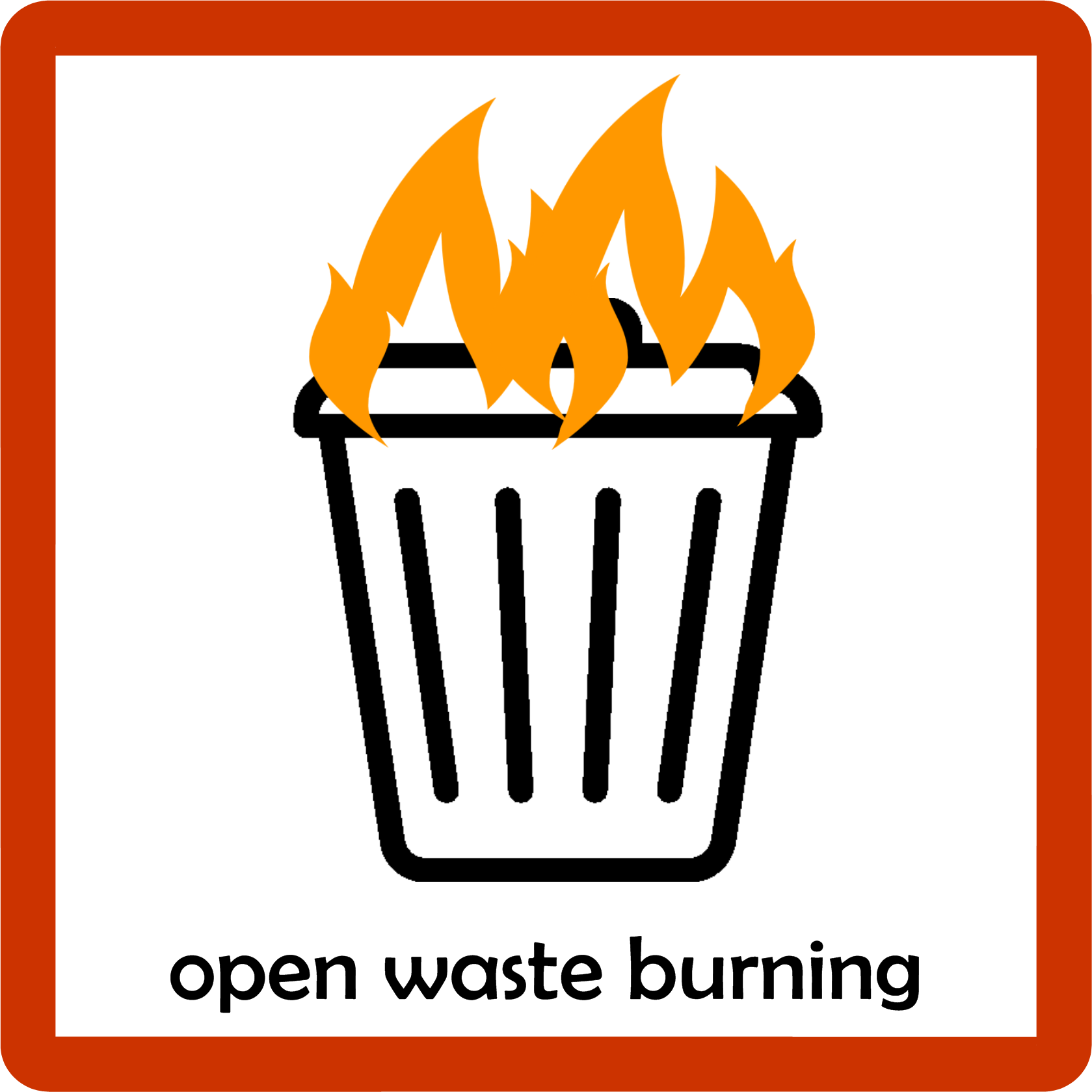 Open Waste Burning